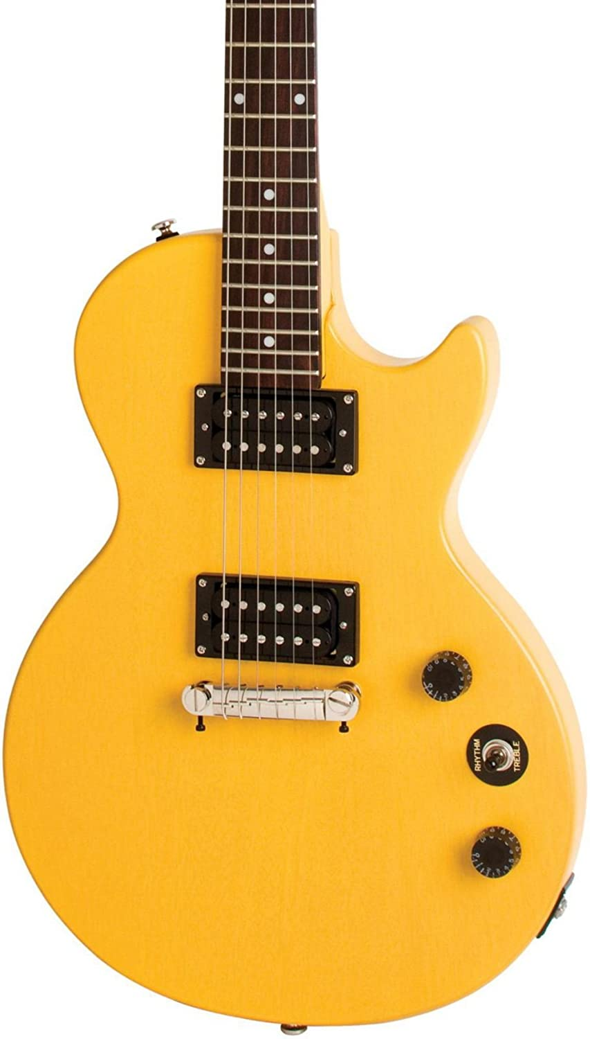 Limited Edition Epiphone Les Paul Guitarra eléctrica de special-i Worn TV Amarillo: Amazon.es: Instrumentos musicales