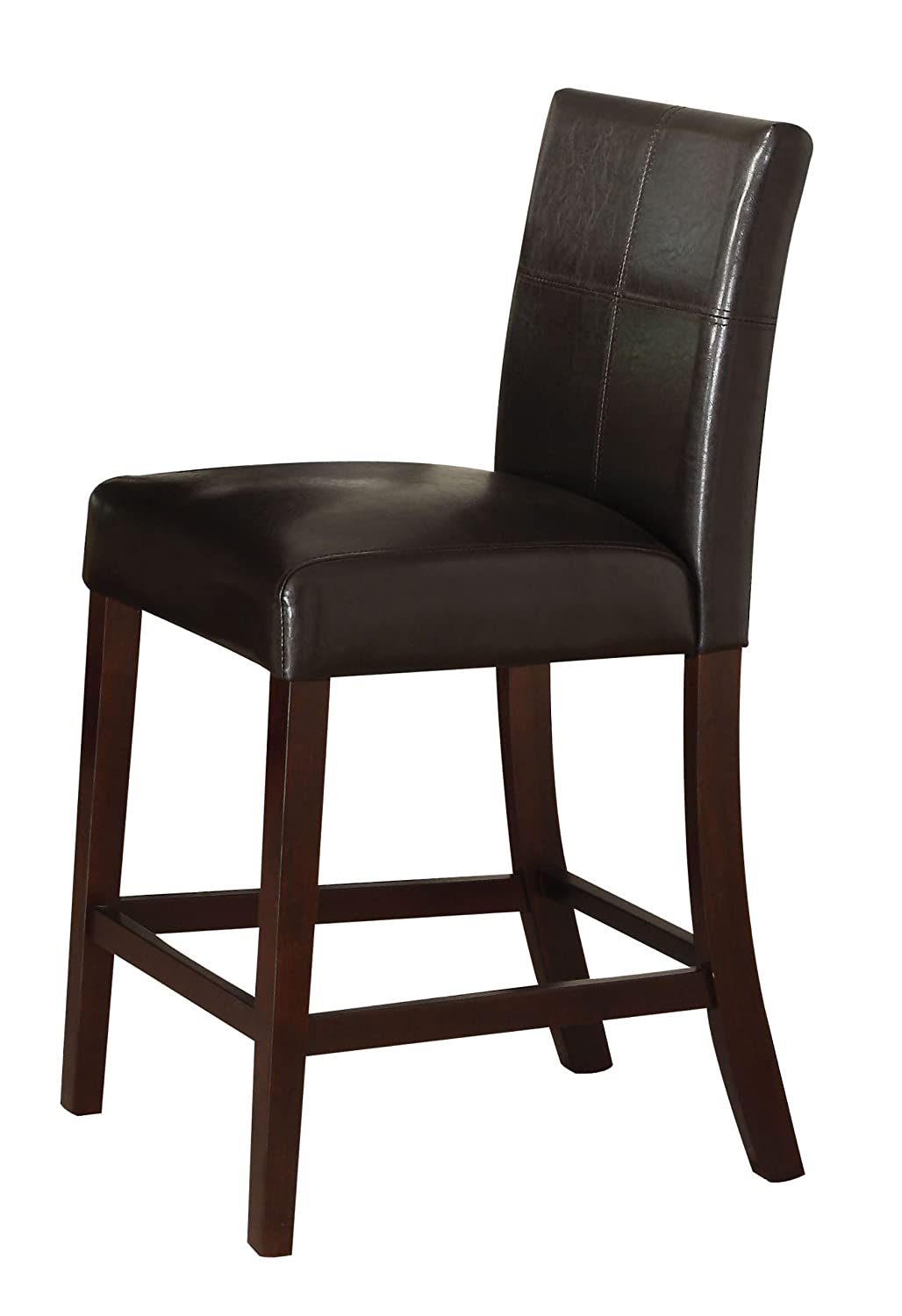 Amazon.com   ACME 70357 Set Of 2 Idris Counter Height Chair, 24 Inch    Chairs