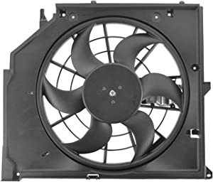 Engine Cooling Fan Assembly - Cooling Direct Fit/For 17117561757 99-06 BMW 3-Series