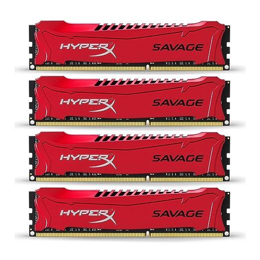 91 opinioni per HyperX Savage Kit 4 x 8 GB, 2400MHz, DDR3, Non-ECC, CL11, DIMM, XMP