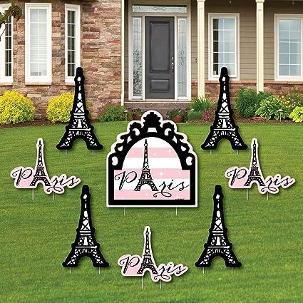 Amazon Com Paris Ooh La La Yard Sign Outdoor Lawn Decorations