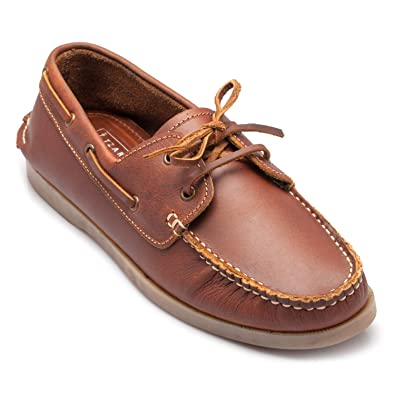 025a81acafec tZaro Genuine Leather Tan Boat Shoe - Timber  Buy Online at Low Prices in  India - Amazon.in