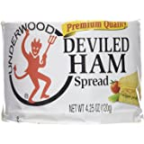 Underwood Deviled Ham 4.25 Oz can - Pack of 12