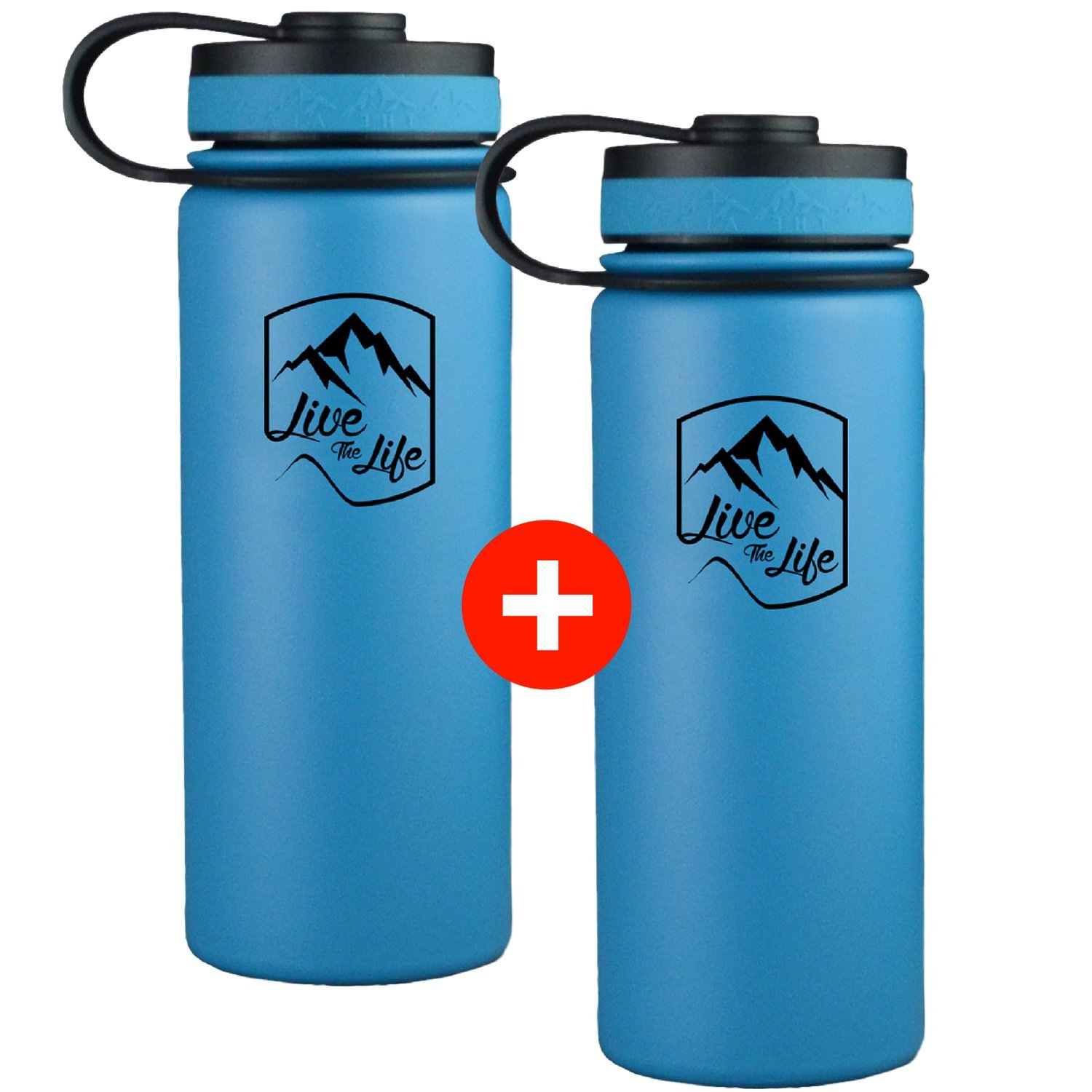 Amazon.com : The Alaska Life Stainless Steel Water Bottle - Wide ...