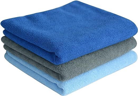 Asciugamano da Viaggio per Capelli Super Assorbente e ad Asciugatura Rapida Myhou Keeshonds Asciugamano Multiuso in Microfibra Ultra Compatto