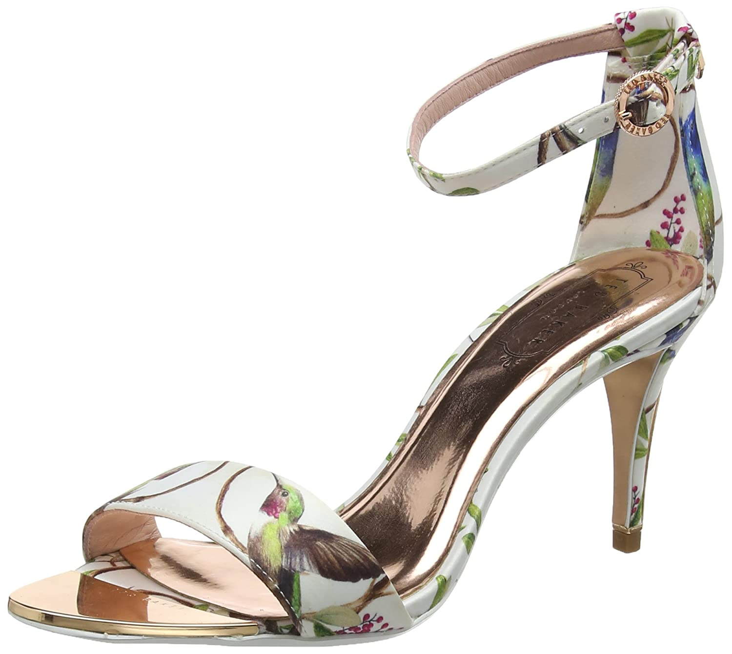 a93f8b37ae6cbc Ted Baker Women s Mavbe Ankle Strap Sandals  Amazon.co.uk  Shoes   Bags