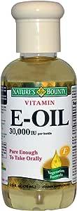 زيت فيتامين E - للبشرة والأظافر والهالات السوداء