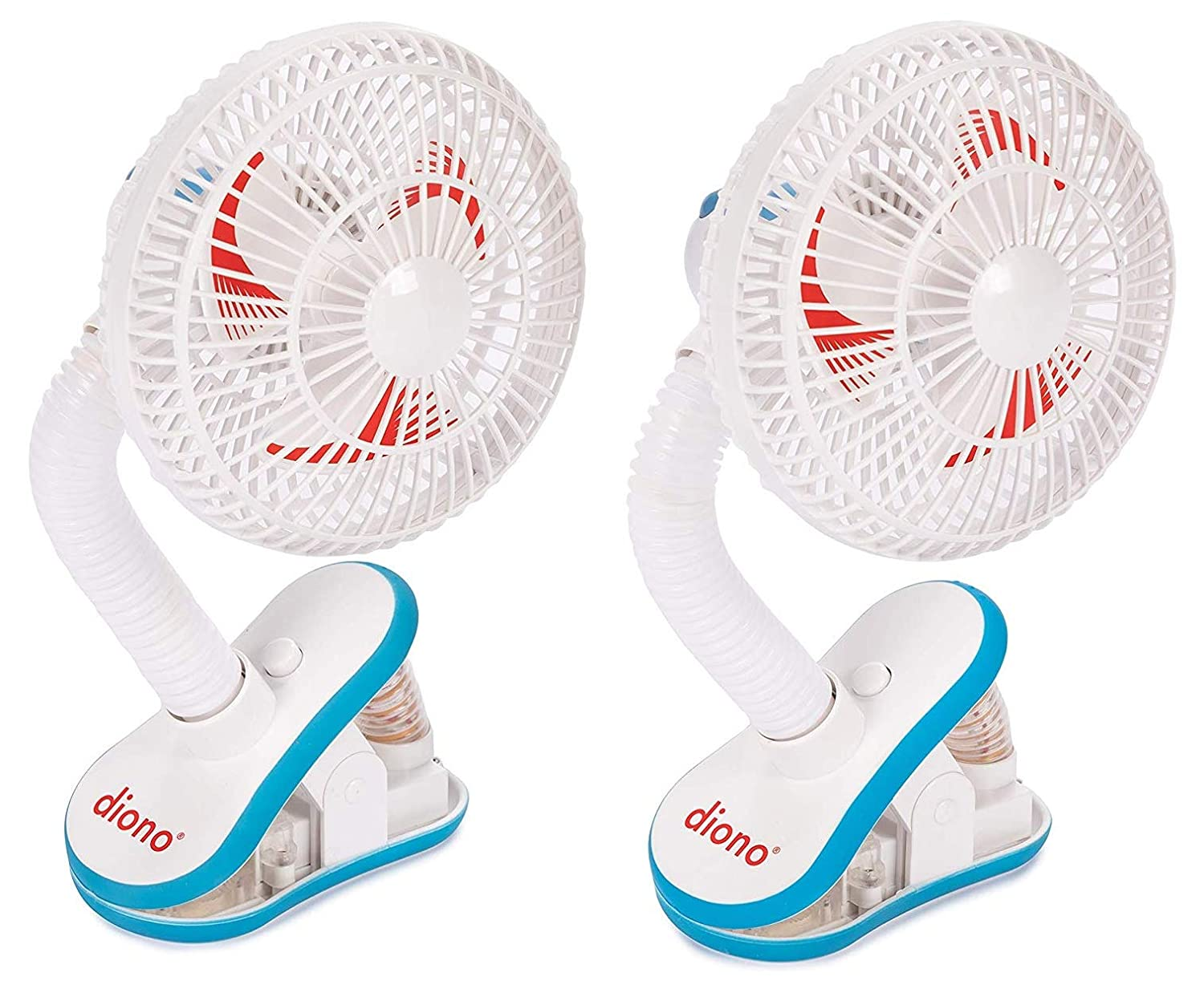 Diono Clip-on Baby Stroller Fan Mini Portable Battery operated Cooling Travel