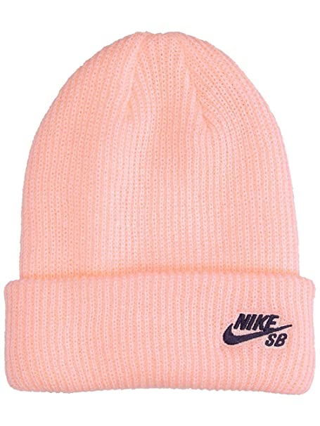 Nike Unisex Fisherman Beanie Storm Pink Obsidian 628684-646  Amazon ... e615c8109a3b