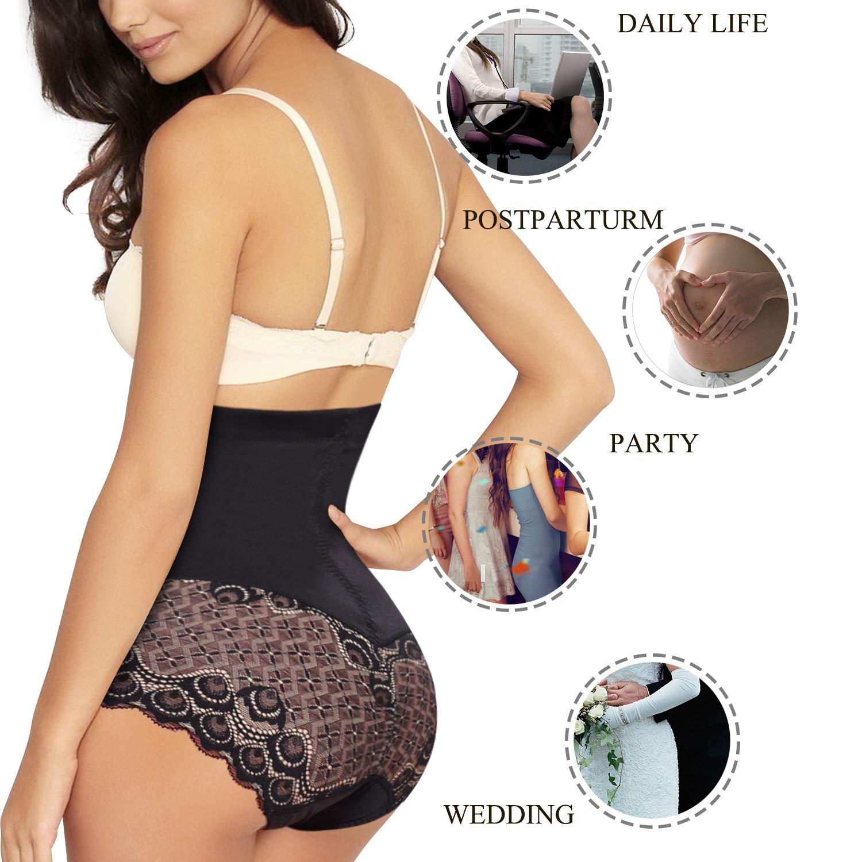 Junlan Invisable Body Shaper High Waist Tummy Control Panty Slim Butt Lifter