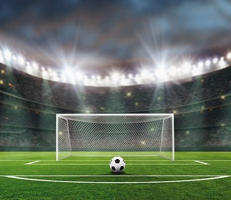 Am Wohnideen Fototapete Tapete Tapete Fussball Stadion Ball