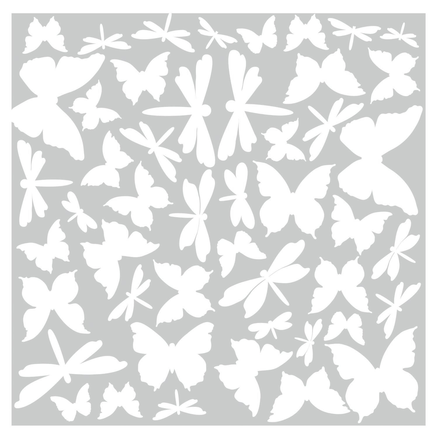Amazon.com: ROOMMATES RMK1706SCS Butterfly And Dragonfly Glow In The Dark  Wall Decals: Home Improvement