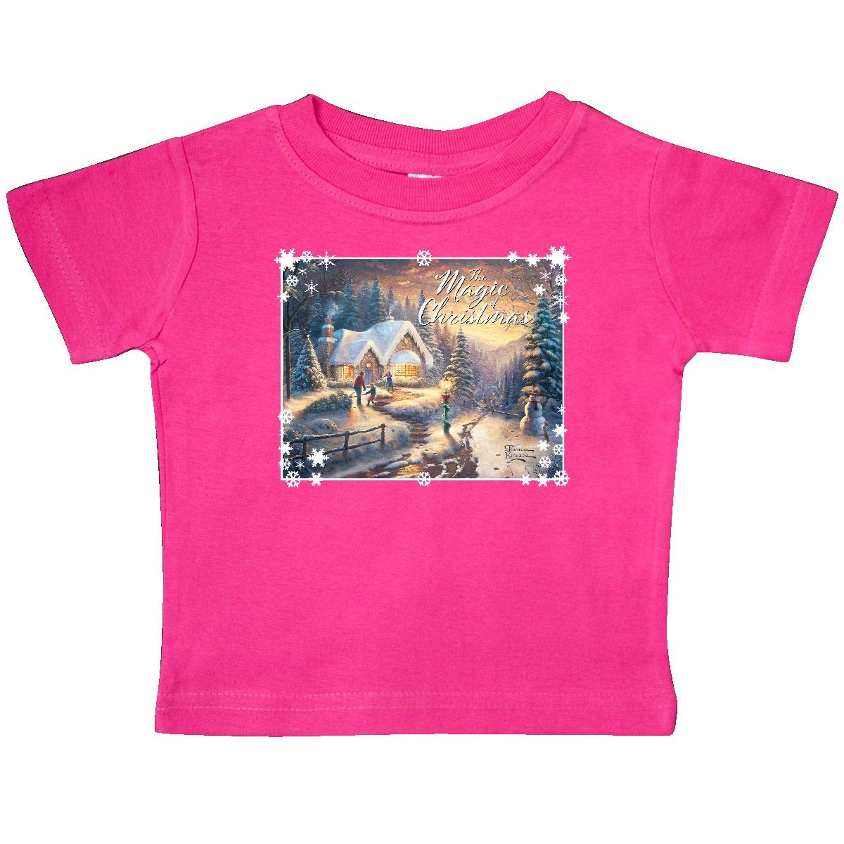 inktastic Country Christmas Homecoming Baby T-Shirt Thomas Kinkade