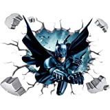 Batman broken wall stickers-FER001391