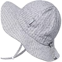 Jan & Jul Unisex UV Protection Sun-Hat, Wide Brim, Adjustable with Strap, for Baby, Toddler, Kids