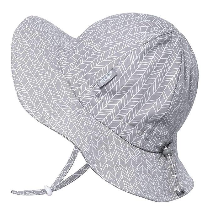 652068991 Jan & Jul Adjustable Unisex Baby Toddler Kids Wide Brim UV Protection  Cotton Floppy Sun Hat