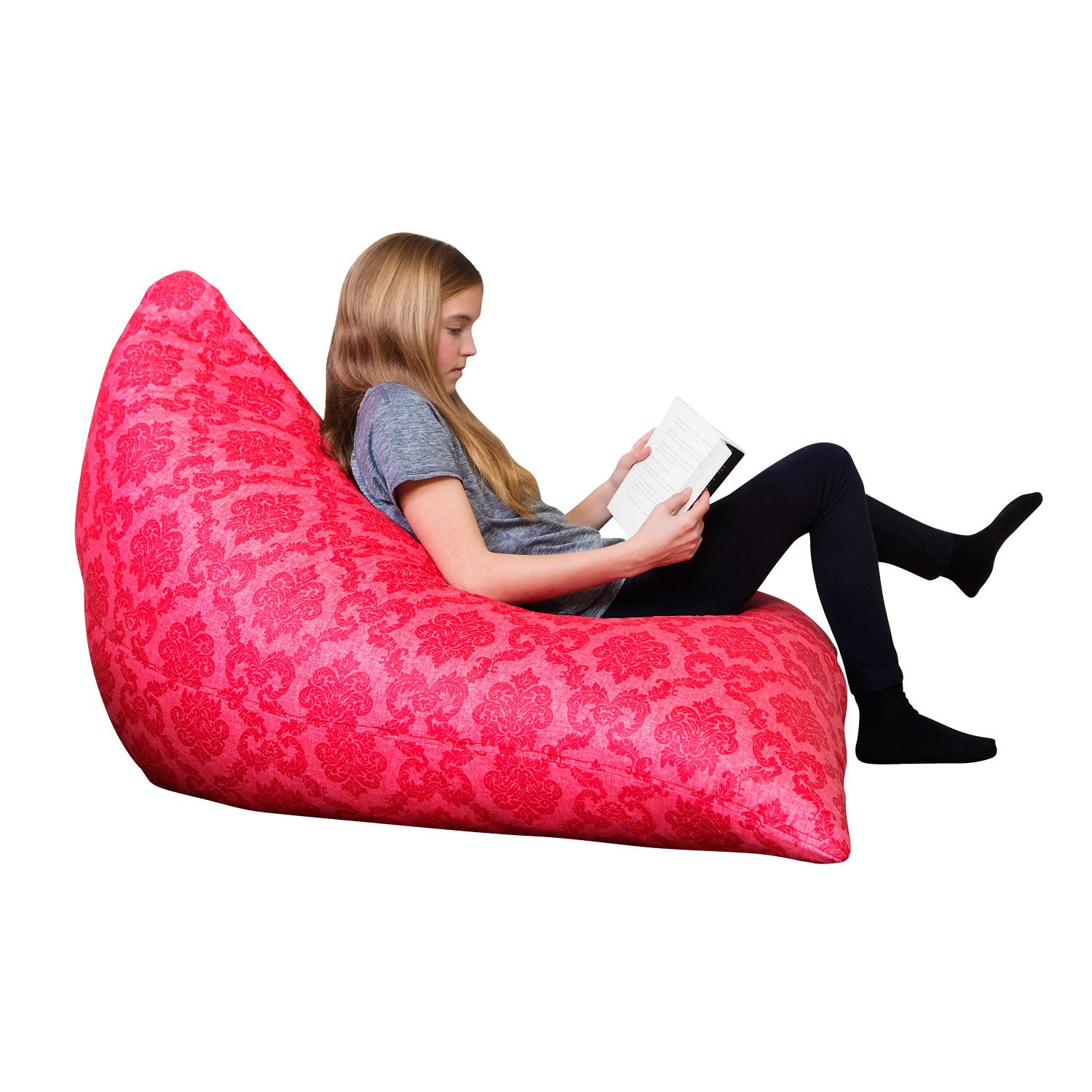 Swell Amazon Com The Teardrop Bean Bag Chair Kitchen Dining Ibusinesslaw Wood Chair Design Ideas Ibusinesslaworg