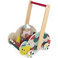 Janod- Chariot d'Éveil Baby Forest-Tortue, J08009