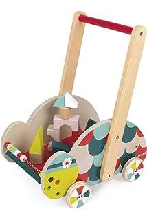 Janod - Carrito Tortuga para el Despertar del bebé (Juratoys J08009)