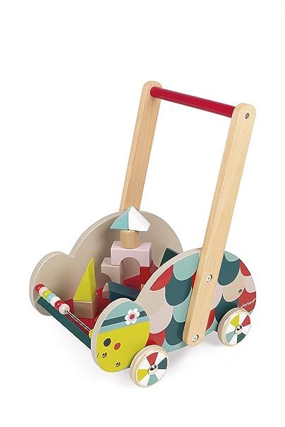 Janod - Carrito Tortuga para el Despertar del bebé (Juratoys J08009): Amazon.es: Juguetes y juegos