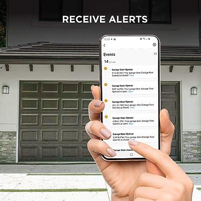Buy Home Zone Security Smart Garage Door Opener 2 4ghz Wireless Remote App Control Enabling Garage Controller For Sectional Garage Door Systems Online In Indonesia B08kbdsjyz