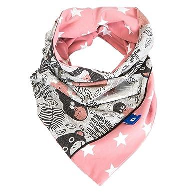 Red de Pois - Snood fille jersey gris motifs singes et étoiles 6-12 ... f9a183aaa17