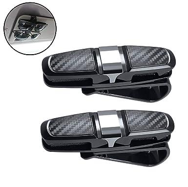 Giveet coche gafas soporte, double-ends visera del coche gafas de sol Ticket Efectivo
