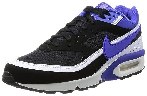 buy online 74bf3 64b09 Nike Air MAX Classic BW FB, Zapatillas de Estar por casa para Hombre, Negro  (Persian Violet White), 42 EU  Amazon.es  Zapatos y complementos