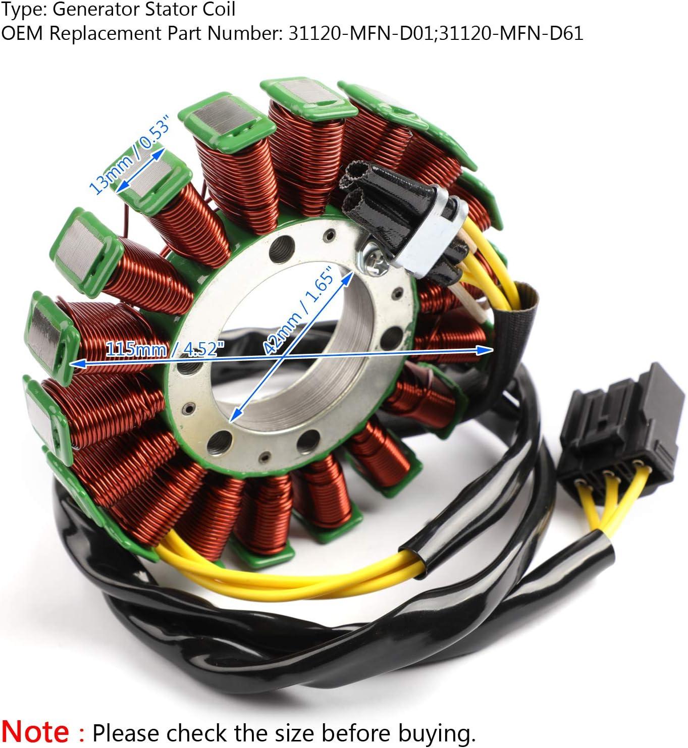 Magneto Generator Stator Coil For Hon-da CB 1000 R CB1000R 2009-16 31120-MFN-D61