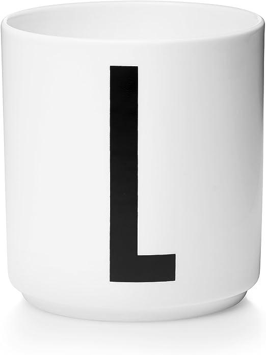 Design Letters Tasse Weiß