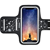 Mpow Running Armband for iPhoneX XR 8 7 6 6s Samsung Galaxy S9 S8 S7 S6,Running Phone Armband with Running headphone Slot and Key Slot for Running Workout Exercise, Starry Sky Pattern