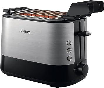 Philips HD2639/90 - Tostadora (730 W, ranura extra grande,