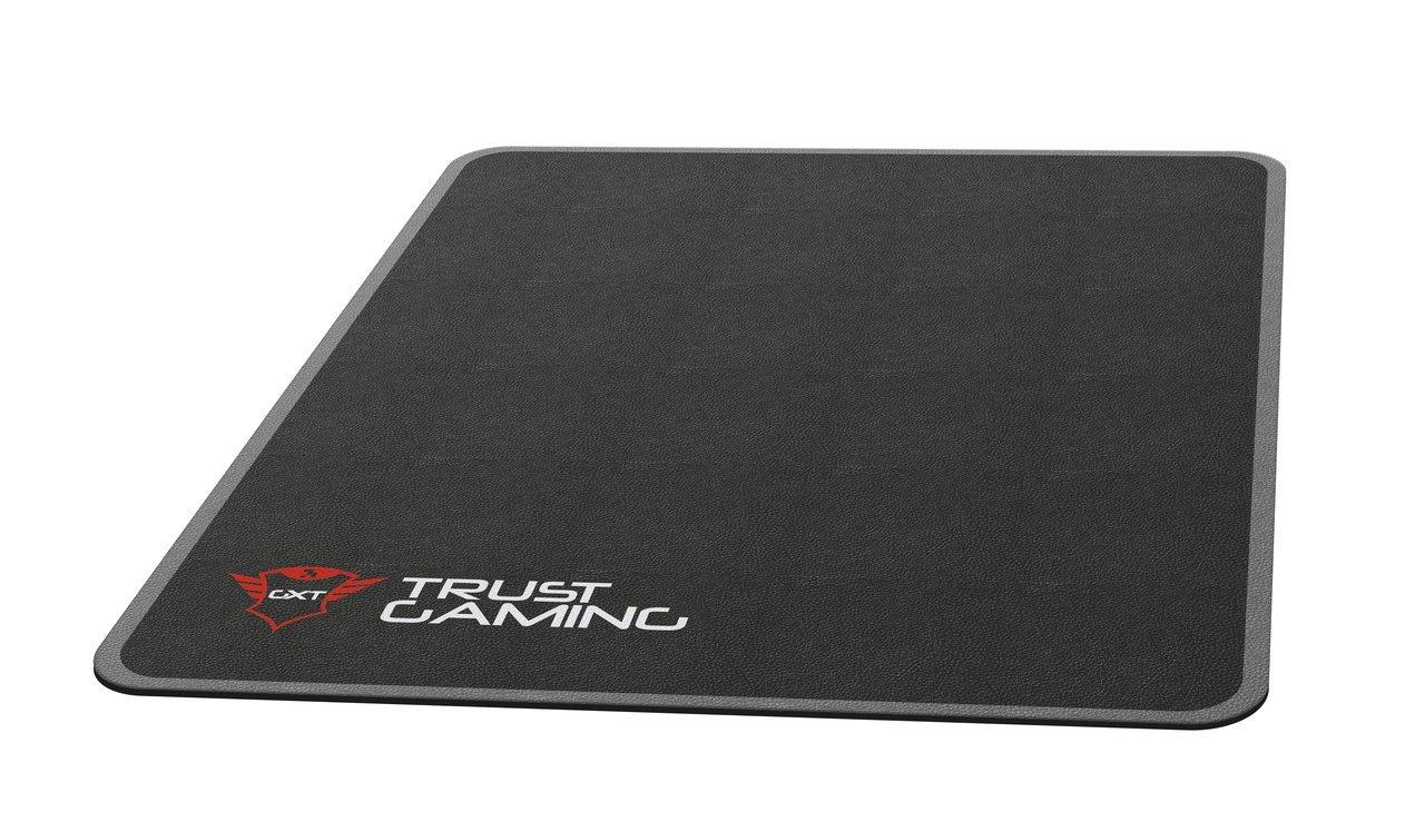 Trust Gaming GXT 715 Tappetino per Sedia, Dimensioni: 99 x 120 cm, Nero 22524