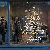 Ruimin 1PC Christmas Window Clings Decal Wall