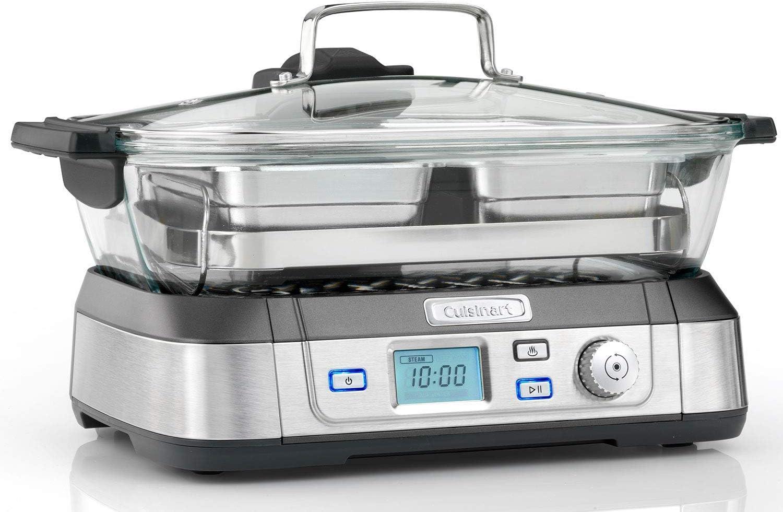 Cuisinart STM1000U Cookfresh Professional Glass Steamer 5 Litre 1800W