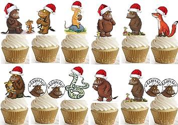 26 Gruffelo Weihnachten Tasse Kuchen Esspapier Topper Kinder Stand