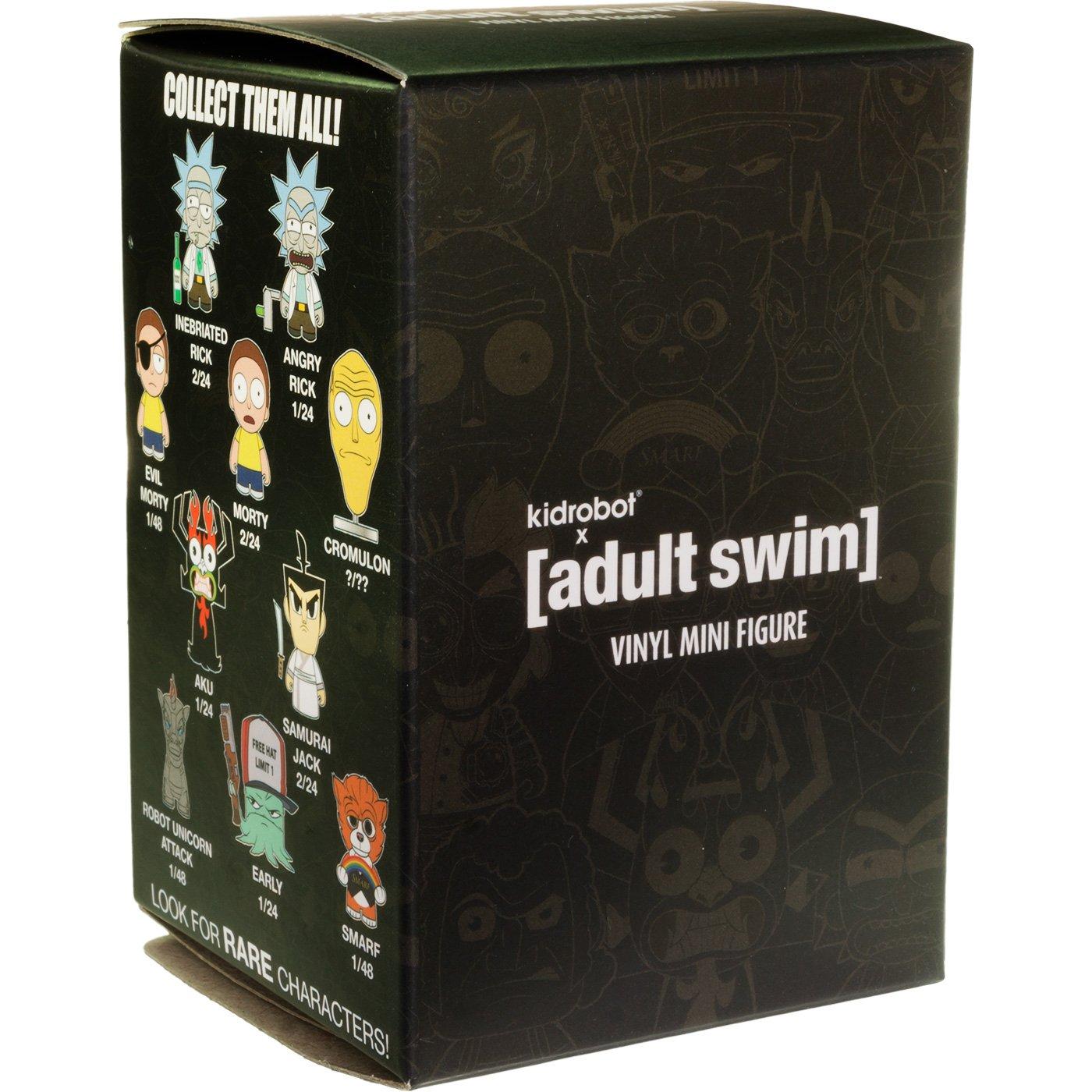 BCC9448006 Smarf RARE : ~2.9 Kidrobot x Adult Swim Mini Figure Too Many Cooks