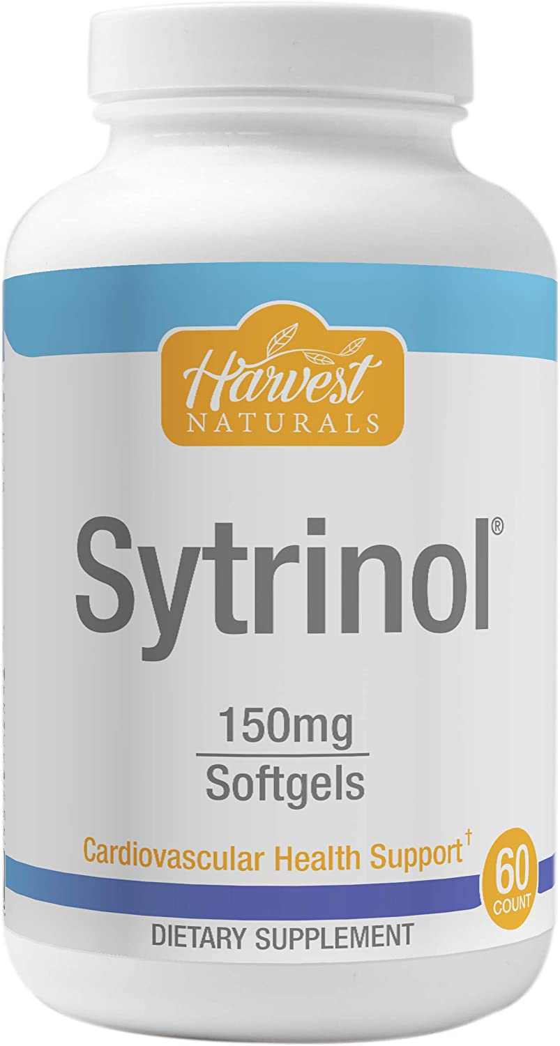 Sytrinol Softgels - Cardiovascular & Healthy Cholesterol Support - 60 Count - Harvest Naturals