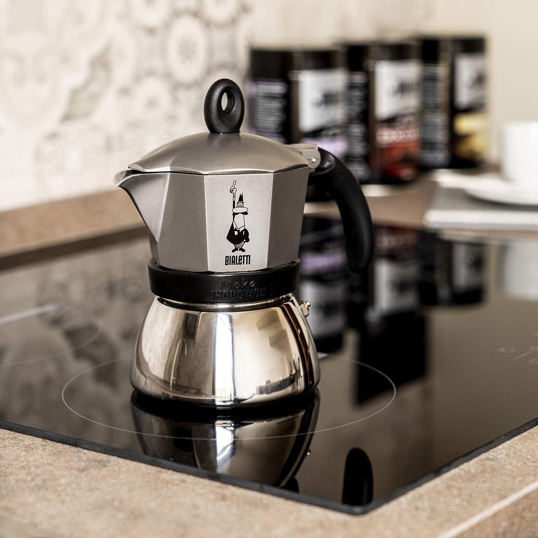 Amazon.com: Bialetti Moka cafetera de espresso de aluminio y ...