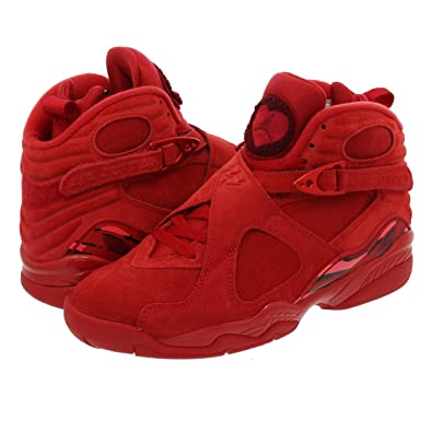low priced 69232 2508a Amazon | [ナイキ] WMNS AIR JORDAN 8 RETRO VDAY GYM RED/EMBER ...