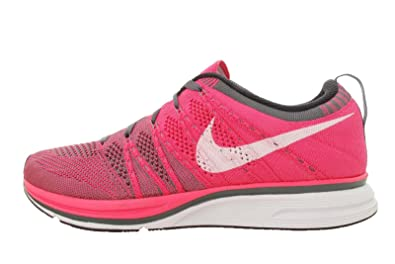 538ec52b67aff ... coupon for nike mens flyknit trainer pink flash white dark grey 9 uk  c62ba 36c41