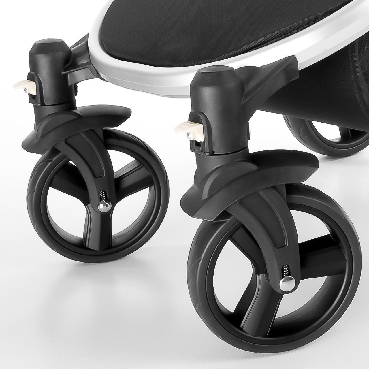 2 x Vorderrad f/ür MAGICA Froggy Kinderwagen Original Vorderr/äder aus Kunststoff Ersatzr/äder R/äder Kombikinderwagen Rad Kinderwagenrad