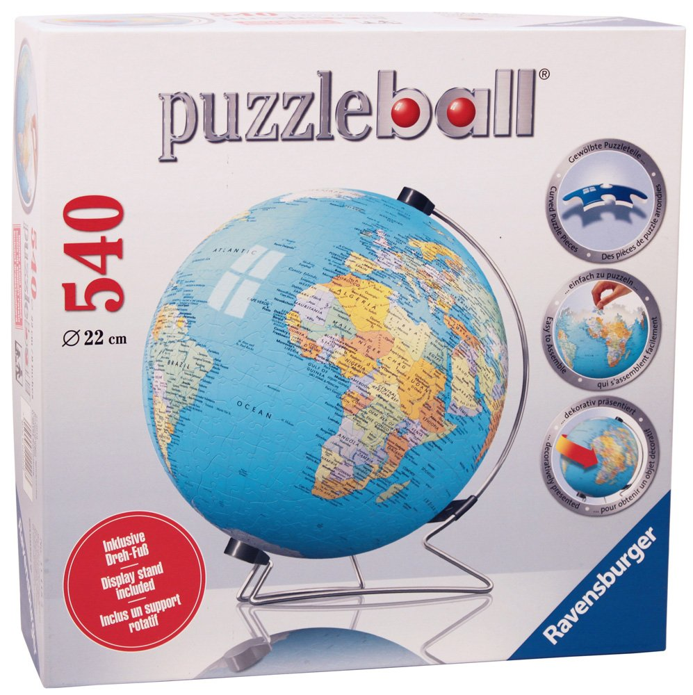 Ravensburger 3D The Earth Puzzleball - 540 Piece