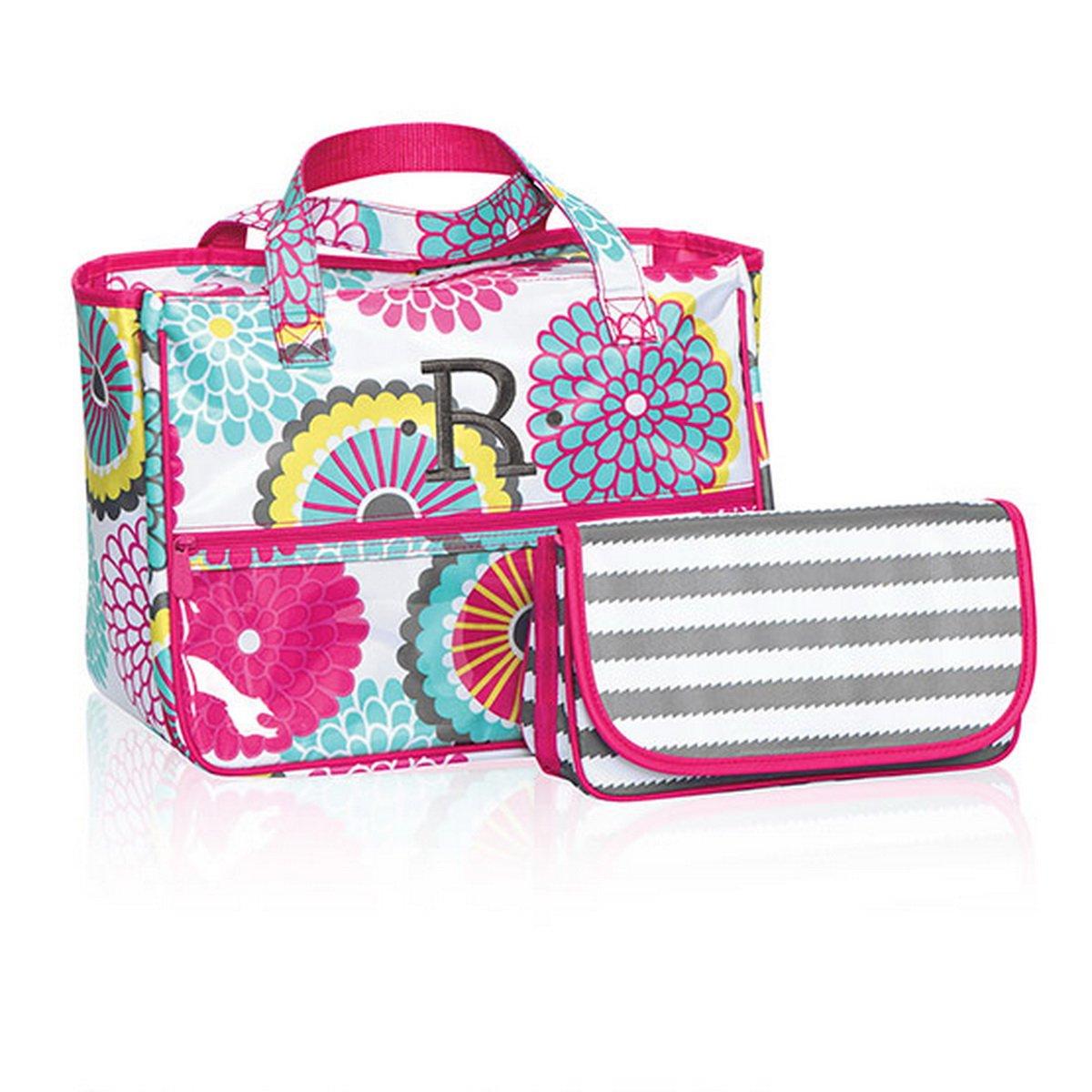 Thirty One True Beauty Bag in Bubble Bloom - 4484