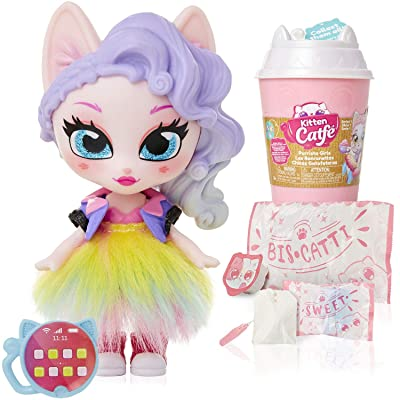 Kitten Catfé Purrista Girls Doll Figures Series 1 - 12 Different Purrista Girls to Collect Each Comes Individually Blind Packed in Its Own Coffee Cup, Which One Will You Get: Toys & Games
