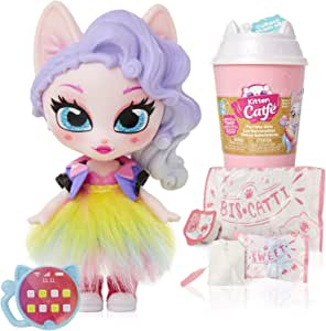Kitten Catfé Purrista Girls Doll Figures Series #1 - 12 Different Purrista Girls to Collect! Each Comes Individually Blind Packed in Its Own Coffee Cup, Which One Will You Get?