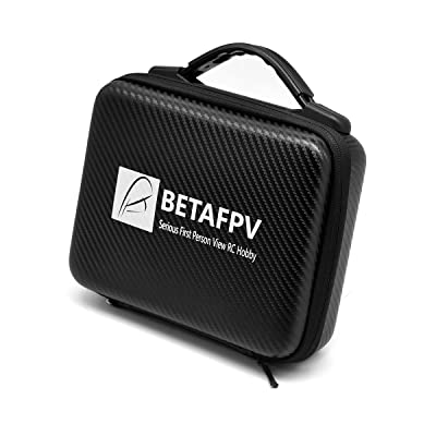 BETAFPV Backpack Carrying Case Blade Inductrix Storage Box with Foam Liner for Tiny Whoop Eachine E010 etc: Toys & Games