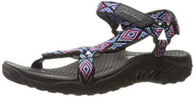Skechers Women's Reggae Misty Morning Sandal: Amazon.de: Schuhe ...