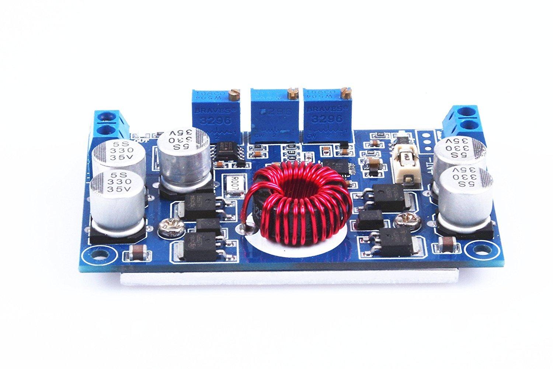 KNACRO LTC3780 Automatic Pressure Lifting Power/Constant Voltage Constant Current DC5-32V/10A/Maxium 130W Voltage stabilized/car/solar charging