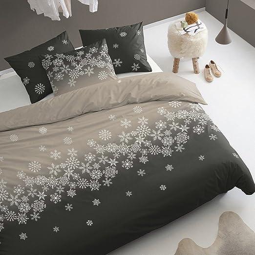 Damai juego de sábanas de franela Crystal arena - 140 x 200 cm ...